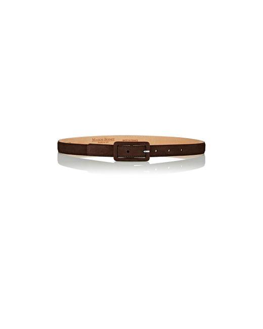 Maison Boinet   Brown Skinny Belt   Lyst
