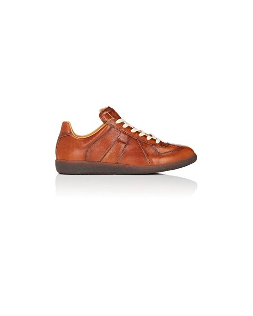 Maison Margiela | Brown Replica Sneakers for Men | Lyst