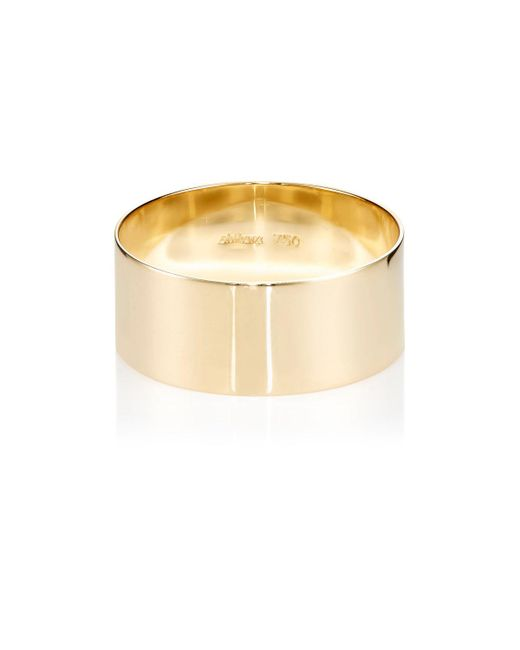 Shihara | Metallic Plate Ring | Lyst