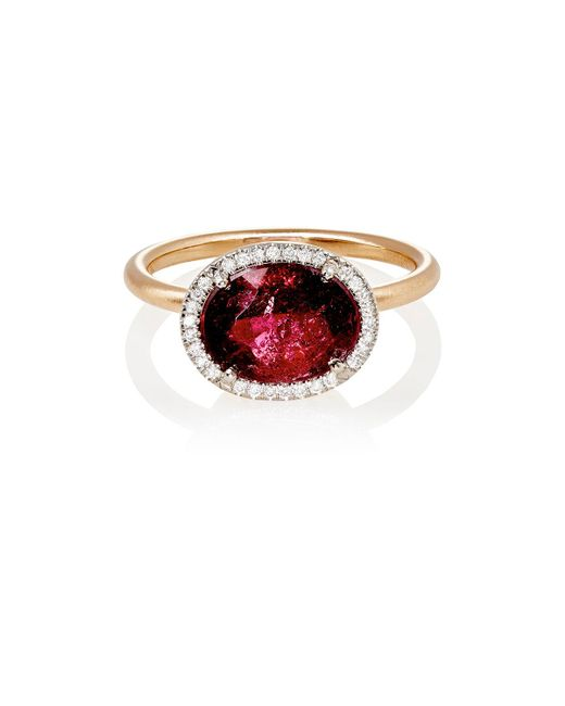 Irene Neuwirth | Red Mixed-gemstone Oval | Lyst