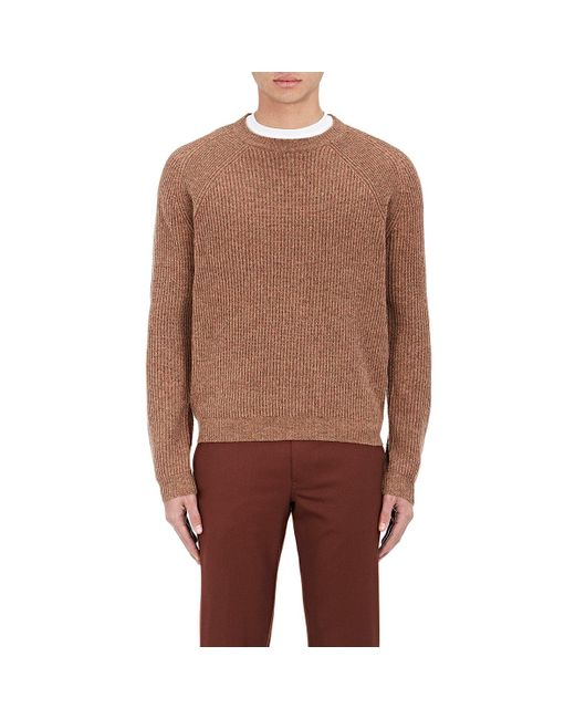 PS by Paul Smith | Brown English Rib-knit Raglan for Men | Lyst