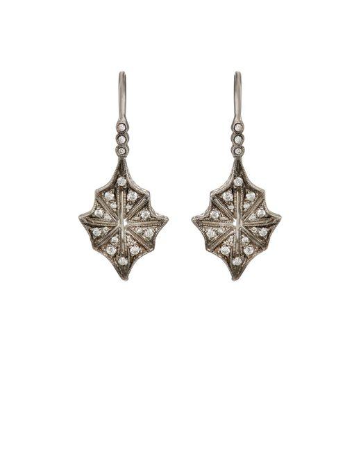 Cathy Waterman   White Star Drop Earrings   Lyst