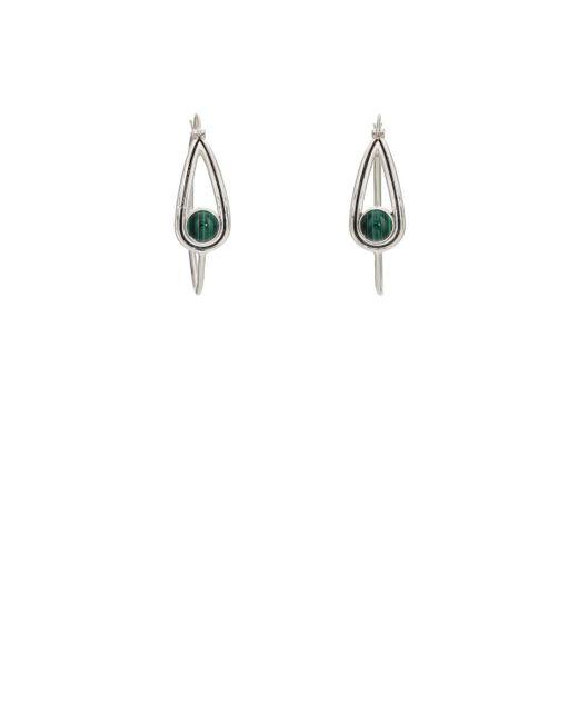 Pamela Love   Metallic Rhea Hoop Earrings   Lyst