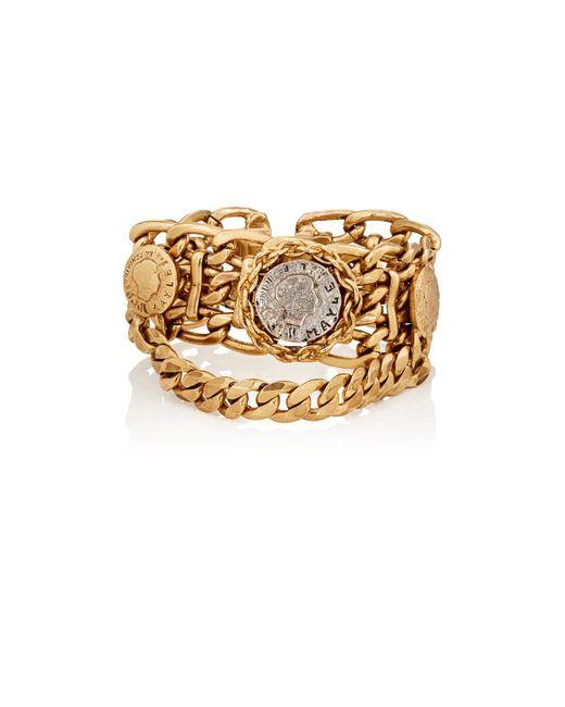Maison Mayle   Metallic Siamese Rosette Bracelet   Lyst