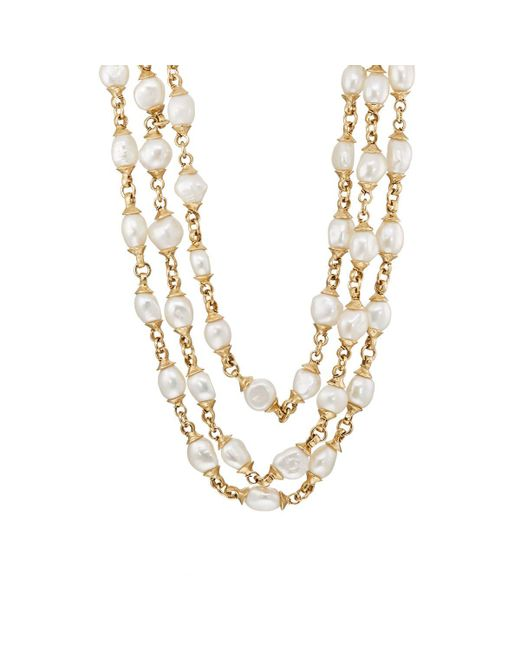 Goossens Paris | Metallic Graine De Gemmes Necklace | Lyst