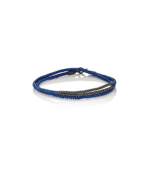 Caputo & Co. | Blue Cord & Bead Double for Men | Lyst