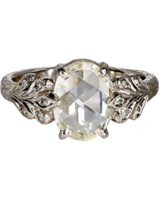 Cathy Waterman   Metallic Leafside Ring   Lyst