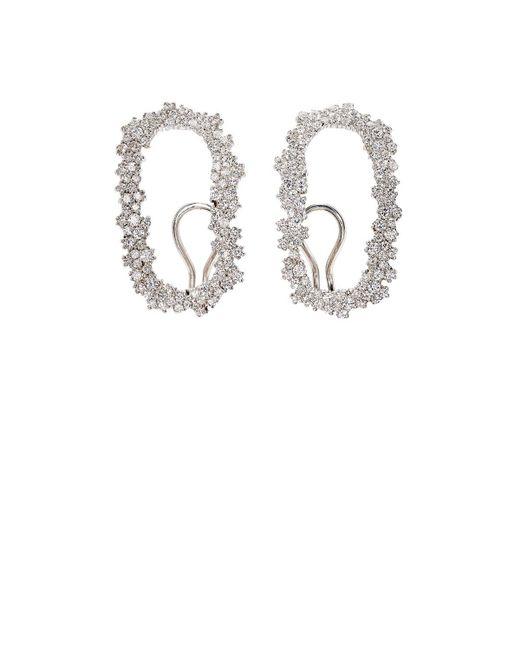 Ana Khouri - White Iolanda Diamond Earrings - Lyst