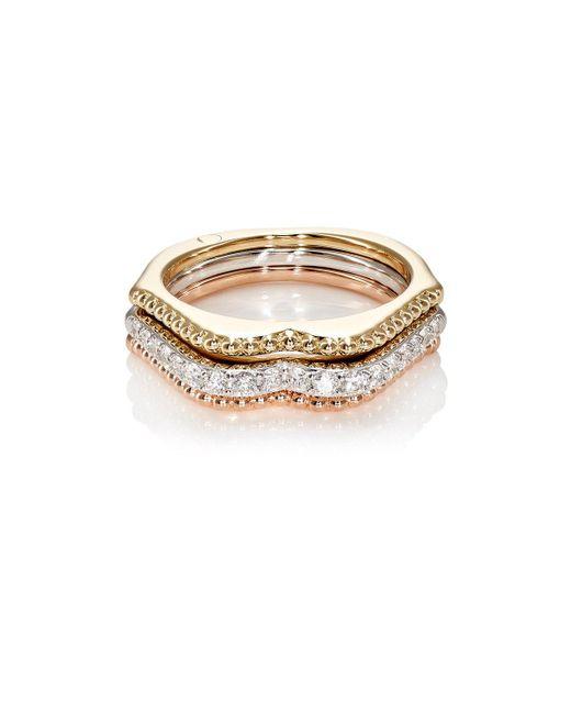 Raphaele Canot - Metallic Omg! Stacked Ring - Lyst