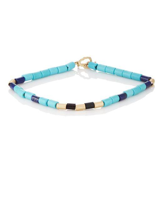 Luis Morais - Blue Beaded Bracelet for Men - Lyst