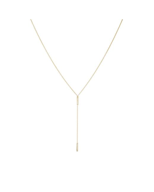Jennifer Meyer - Metallic Bar Charm Y - Lyst