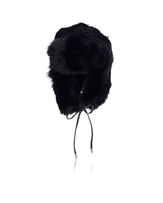 Eugenia Kim - Black Fur Owen Trapper Hat - Lyst
