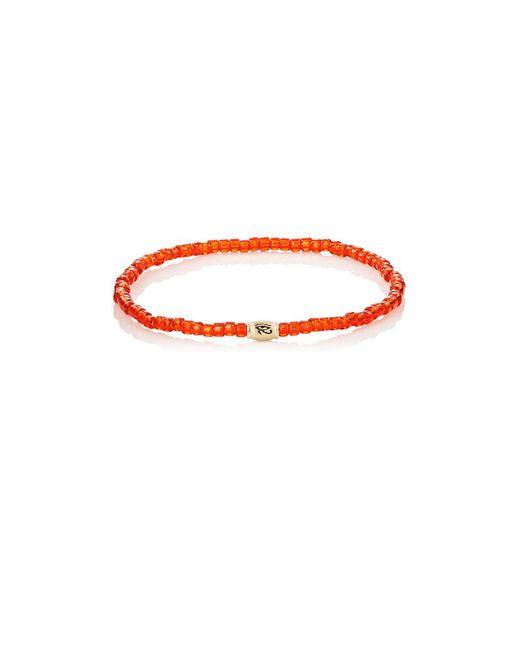 Luis Morais - Metallic Horus Eye Etched-bead Bracelet for Men - Lyst