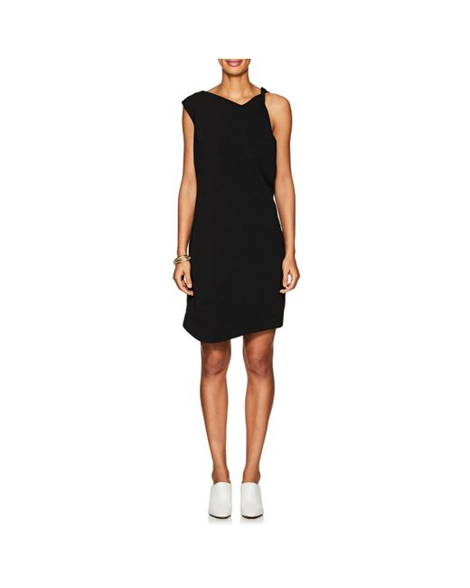 Nomia - Black Cady Sleeveless Shift Dress - Lyst
