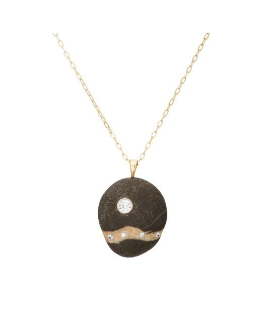 Cvc Stones - Black Ivory Coast Necklace - Lyst