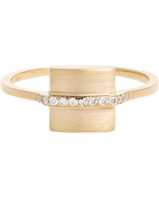 Jennie Kwon | Natural square Band Ring | Lyst