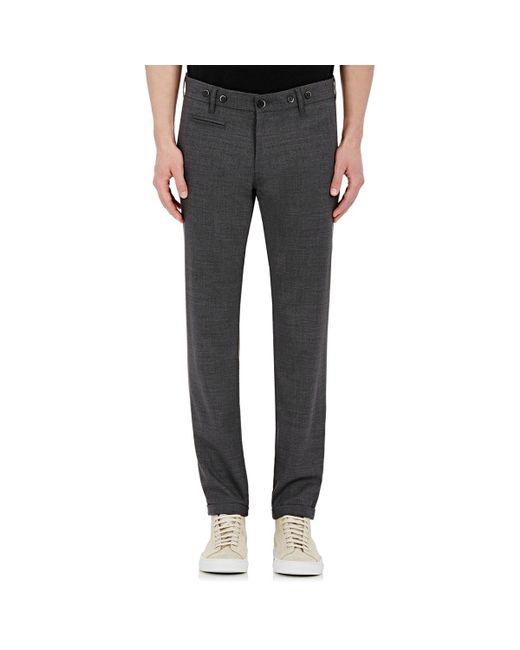 Barena - Gray Skinny Trousers for Men - Lyst
