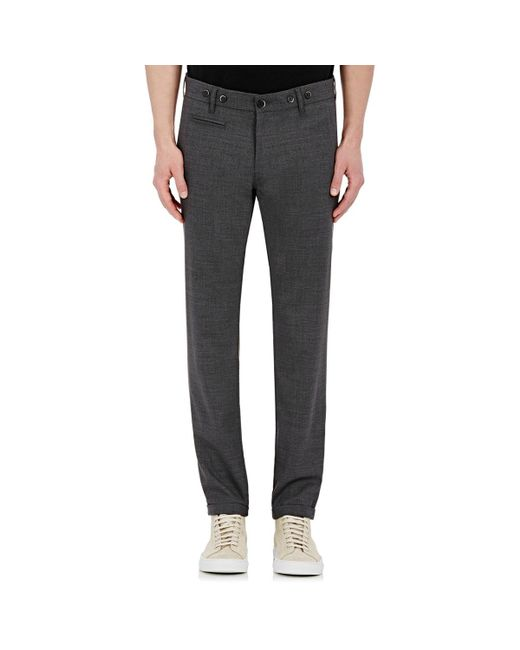 Barena | Gray Skinny Trousers for Men | Lyst