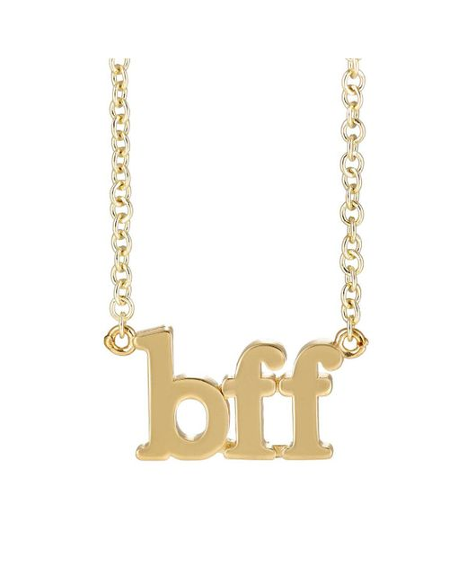 Jennifer Meyer | Metallic bff Charm Necklace | Lyst