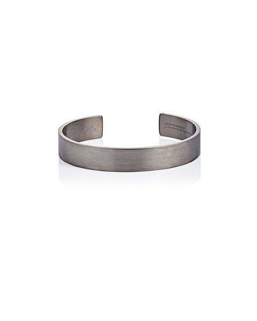 Le Gramme - Metallic Le 33 Cuff - Lyst