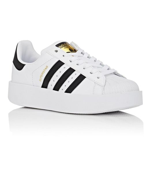 f8b272fdaf54 Lyst - adidas Superstar Bold Sneaker in White - Save 41%