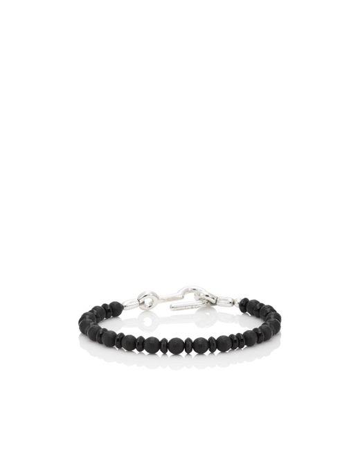 Caputo & Co. - Black Onyx Beaded Bracelet for Men - Lyst