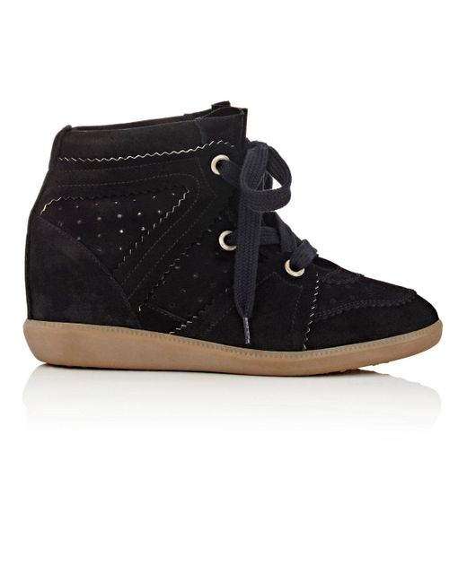 Isabel Marant | Blue Étoile 'bobby' Sneakers | Lyst