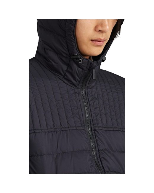 e9e8dc0d868d ... Canada Goose - Black Cabri Quilted Ripstop Hooded Jacket for Men - Lyst  ...