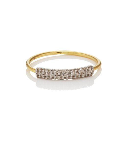 Ileana Makri - Metallic Half Crown Ring Size 7 - Lyst