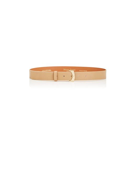 Maison Boinet | Brown Nappa Leather Belt | Lyst
