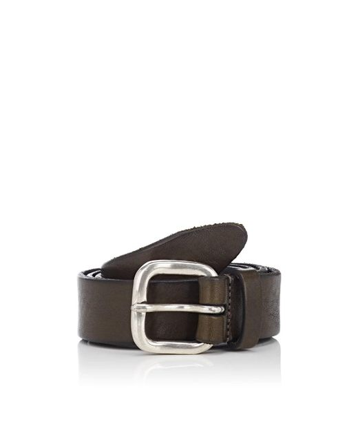 178009feeafbc Lyst - Barneys New York Leather Belt in Brown for Men