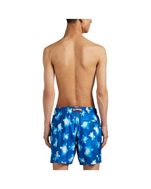 cdf607a3e2 ... Vilebrequin - Blue Crystal-turtle Swim Trunks for Men - Lyst