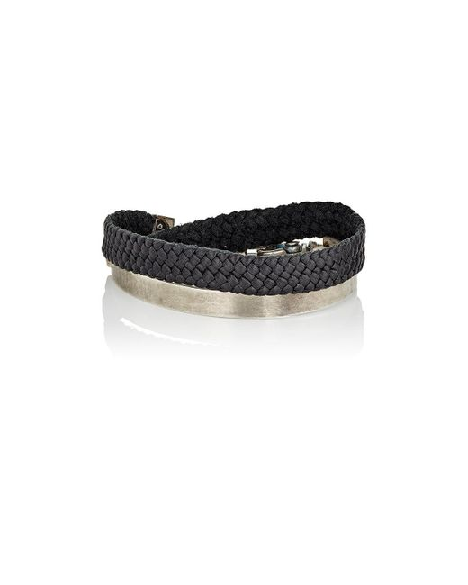 Title Of Work - Black Bit Cuff Bracelet for Men - Lyst