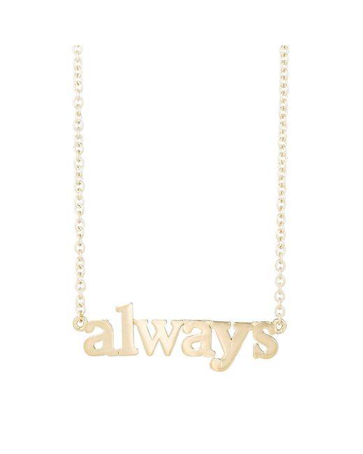Jennifer Meyer | White always Pendant Necklace | Lyst