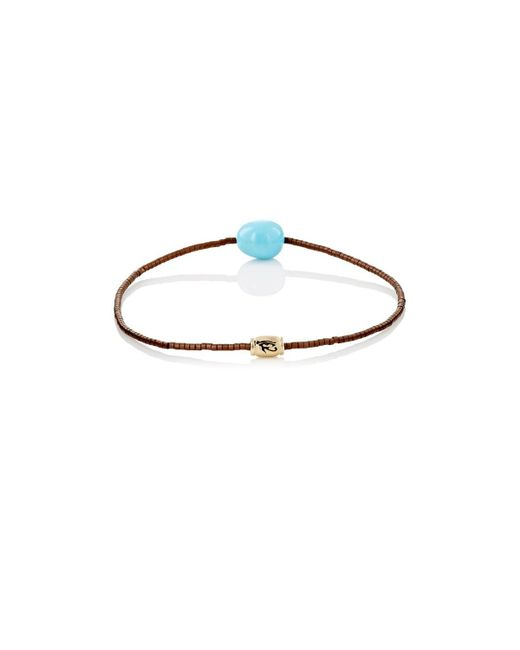 Luis Morais - Blue Eye Of Horus Beaded Bracelet for Men - Lyst