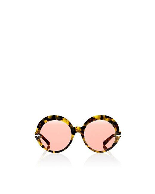 Karen Walker - Brown Romancer Sunglasses - Lyst