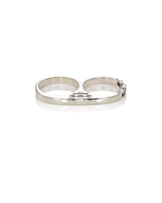 Hoorsenbuhs | Metallic Double Barrel Knuckle Ring for Men | Lyst