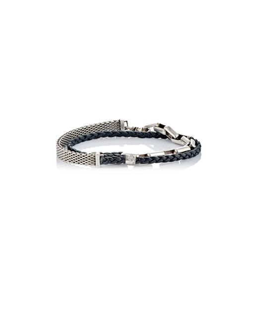 Title Of Work - Black Multi-wrap Bracelet for Men - Lyst