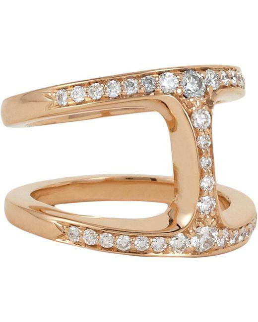 Hoorsenbuhs - White Dame Diamond Phantom Ring - Lyst