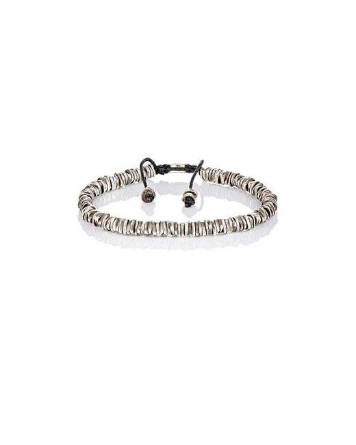 M. Cohen - Metallic Oxidized Silver Bracelet for Men - Lyst