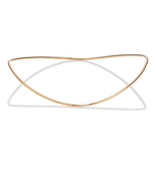 Hirotaka - Metallic Yellow Gold Wire Bangle - Lyst
