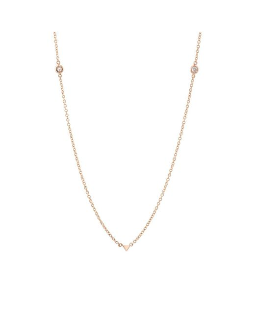 Eva Fehren - Metallic Jag Necklace - Lyst