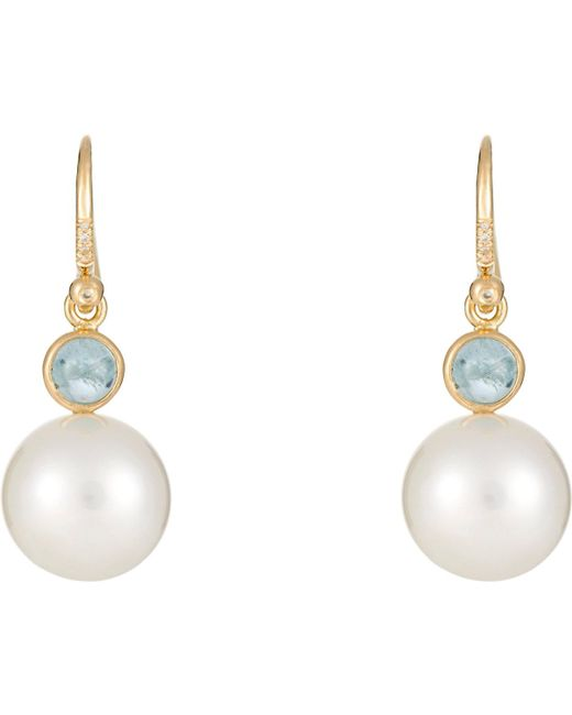 Irene Neuwirth | Multicolor Gemstone Drop Earrings | Lyst