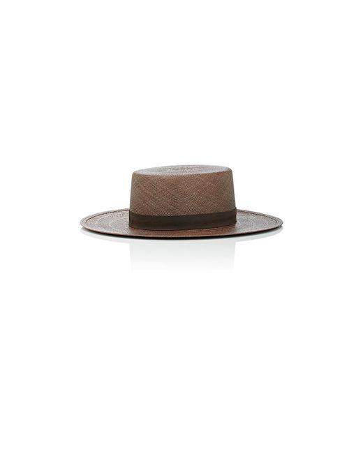 Janessa Leone | Brown Carolina Bolero Hat | Lyst