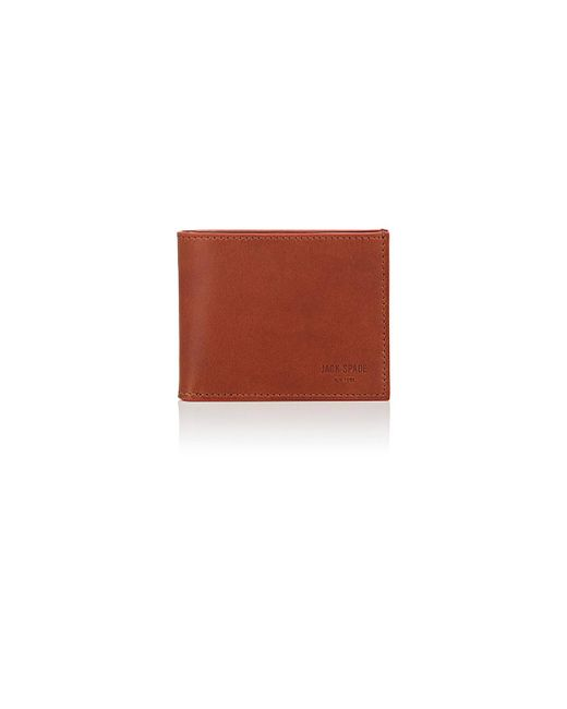 Jack Spade | Brown Slim Billfold for Men | Lyst