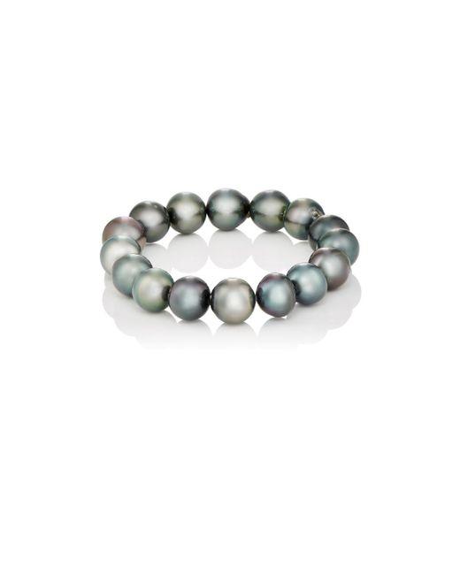 Samira 13 | Metallic Tahitian Pearl Bracelet | Lyst
