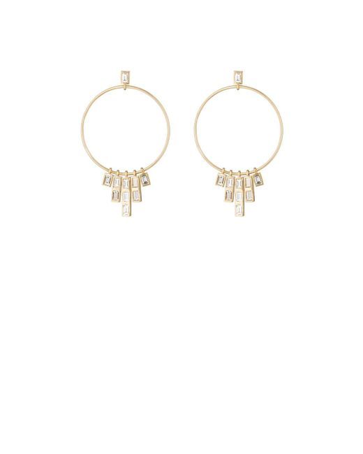 Ileana Makri - Metallic Pyramid Earrings - Lyst