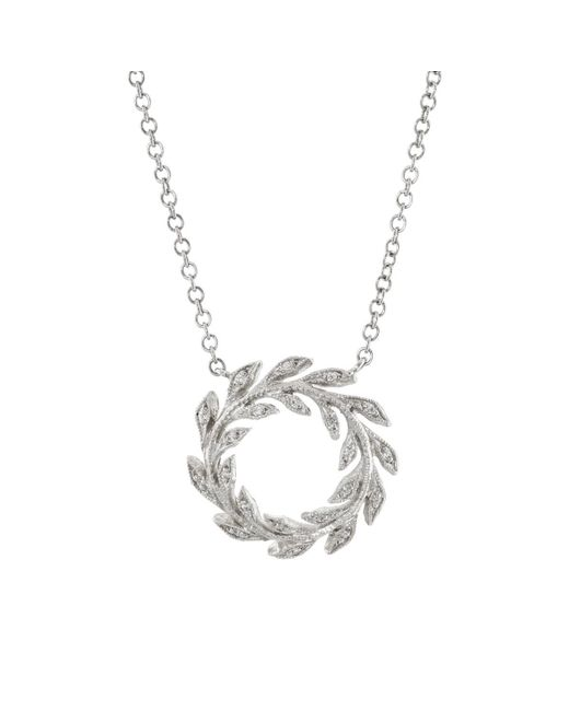 Cathy Waterman - Metallic Wreath Pendant Necklace - Lyst