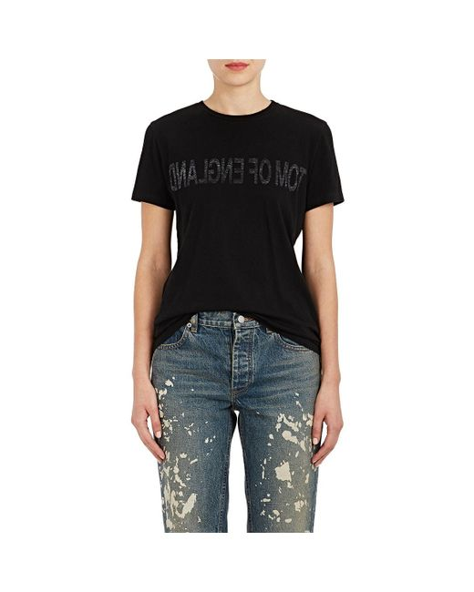 Helmut Lang - Black tom Of England Cotton T - Lyst