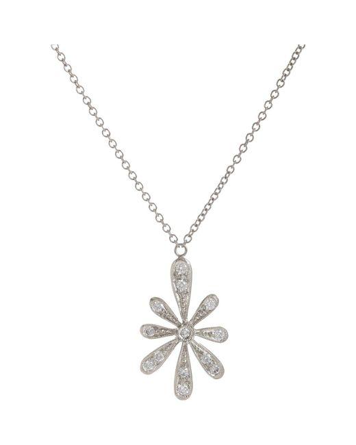 Cathy Waterman | Metallic Daisy Pendant Necklace | Lyst